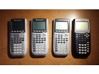 4 x Scientific Calculators: Texas Instruments TI-84 Plus