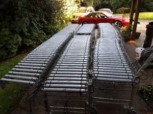 57' Nestaflex Powered Flexible Conveyor 57' - $9800