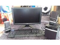 """19"""" Acer Monitor with keyboard"""