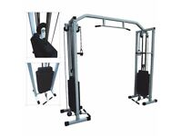 HOME GYM - COMPLETE WORKOUT CABLE CROSSOVER TRAINING MACHINE