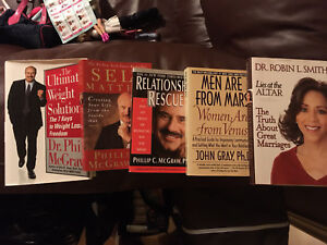 Self help books Dr Phil and others