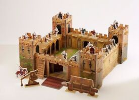 Usborne Slot-together Medieval Castle And Book - Amazing toy for your child (4-7yrs old)