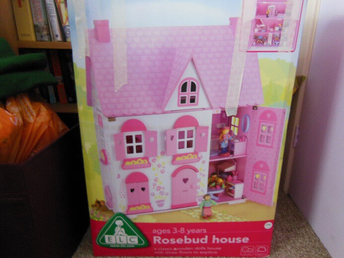 dolls house wooden, quick sale reductionin Forest Hill, LondonGumtree - Wooden dolls house from ELC with wooden little people and furniture. In original box flat packed. Easy to assemble. Price £49 Pick Up Brockley