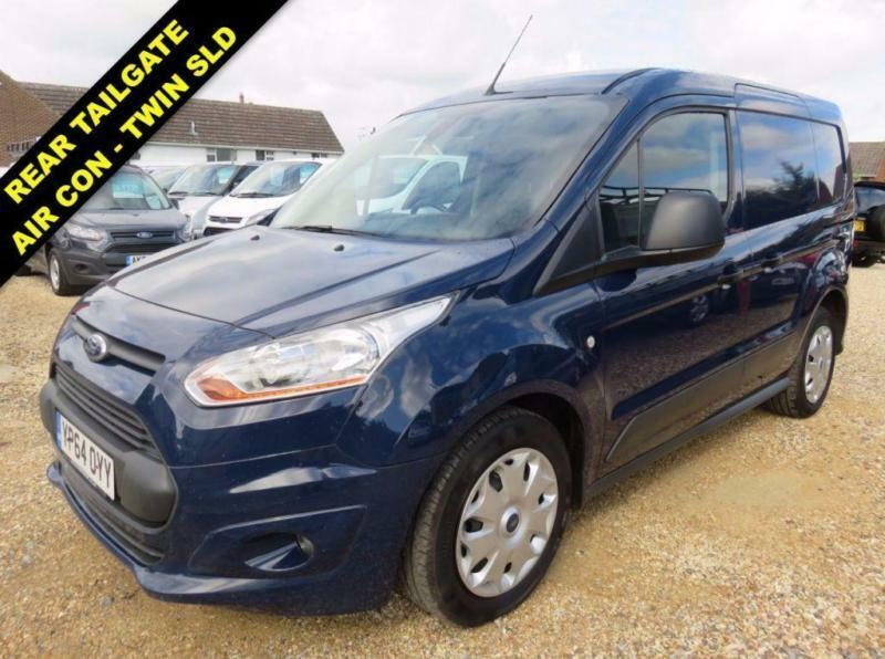 2014 64 FORD TRANSIT CONNECT 1.6 TDCI 200 TREND 115 BHP WITH TAILGATE SWB LOW RO