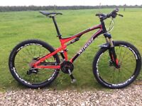 Specialized Epic Full suspension mountain bike
