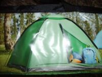 "FOR SALE ""OZARK TRAIL"" 2 MAN TENT 220CMS SQUARED x 110 CMS HIGH NEW IN CARRYING BAG"
