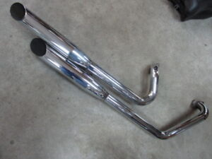 COBRA CLASSIC DELUXE COMPLETE EXHAUST FOR ROAD STAR