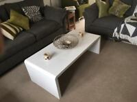 New Coffee Table white gloss