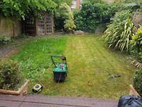 General garden clean, weeding, lawn, tidy up garden