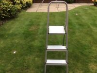 Step Ladders - Small folding set.