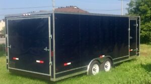 8 1/2 x 20 Enclosed with Ramp