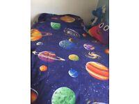 Boys bedroom bundle space theme