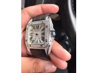Men's Cartier Santos 100 Watch