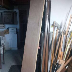 New..Mahogony hollow closet door