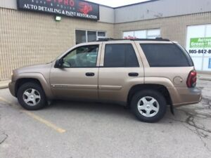 2002 Chev Trailblazer LS ''4X4'' Only 129.600 Kms. 905  510 0666