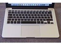 APPLE MACBOOK PRO RETINA DISPLAY INTEL CORE I5 2.6GHZ 8GB RAM 256GB SSD WIFI WEBCAM OS X