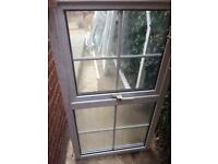 Doubled glazed window and frame (used)