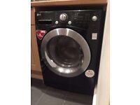 33 LG F1280TD6 8kg 1200 Spin Black LCD Silent Washing Machine 1 YEAR GUARANTEE FREE DEL N FIT
