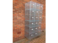 Industrial/Commercial Wire Storage Cages