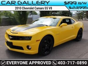 2010 Chevrolet Camaro SS V8 w/Leather, Custom Rims $199B/W YOU'R