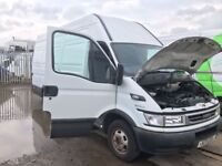 Iveco Daily 3.0 double wheel lwb high top 35 c14 hpi parts