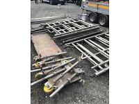 Boss aluminium scaffold towers