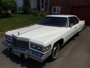 1976 Cadillac Sedan DeVille - Excellent Shape $9500