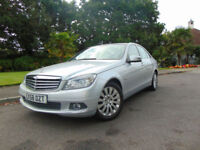 Superb 2008 Mercedes-Benz C200 Kompressor 1.8 Automatic Elegance New MOT