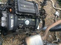 vw golf mk5 1.4 fsi b.u.d engine for supply and fit call parts