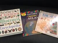 Children's illustrated Encyclopedia etc