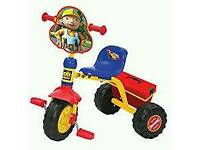 Brand new bob the builder Trike with tools