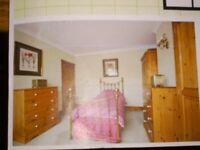 Pine wardrobe - double wardrobe - top quality - perfect condition