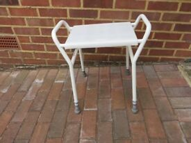 Sturdy Shower Bench Stool – Adjustable