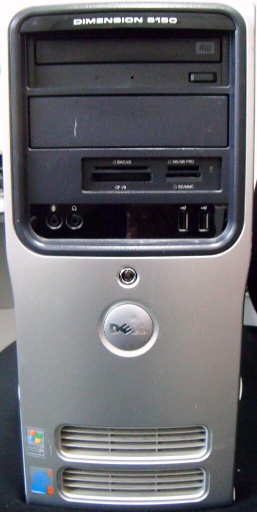 Used Dell Dimension 5150 Mini Tower PC (in good condition)