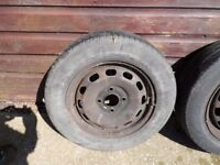 Fiesta/ Mazda 2 Used Wheels with Tyres 175 65 14