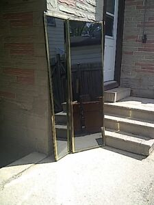 2 mirrors for sale.