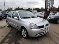 2006 RENAULT CLIO 1.2 CAMPUS SPORT LOW MILES FULL SERVICE HSITORY LONG MOT