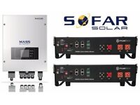 £2495 FULLY FITTED 2.4kw to 9.6kw Lithium Battery Storage System for existing SolarPanel PV systems