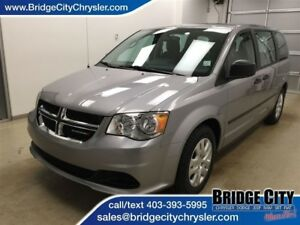 2017 Dodge Grand Caravan CVP- Rear A/C and Bluetooth!