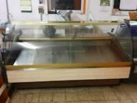 Quick sale serve over counter display fridge