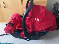Three car seats all from birth £10 each