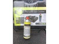 New Portable gas cooker for camping festivals picnics fishing barbecues etc stove