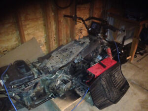 Quad runner parts/project for sale