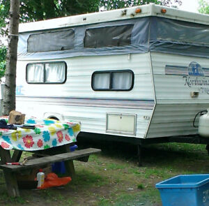 Viking-Northwind camping trailer - Perfect size and condition