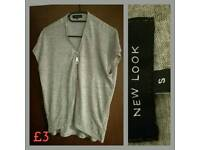 New Look Zip Top Size Small