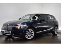 BMW 1 SERIES 2.0 116D URBAN 5d 114 BHP (blue) 2011
