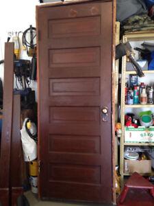 105 year old door...Reduced!