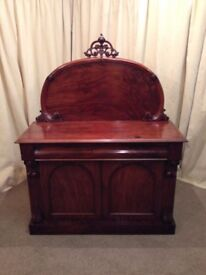 Antique Victorian Mahogany Chiffonier - FREE Delivery Available