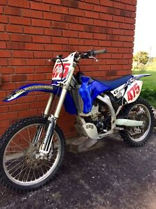 2009 YZF250 With Ownership.