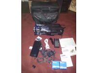 VINTAGE PANASONIC M10 VHS CAMCORDER WITH BAG